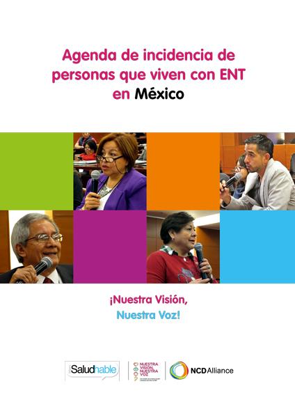 Agenda de incidencia de personas que viven con ENT en México
