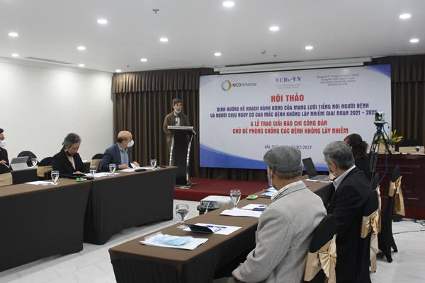 Launch of the Vietnam Advocacy Agenda of People Living with NCDs