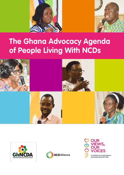 The Ghana Advocacy Agenda of People Living With NCDs