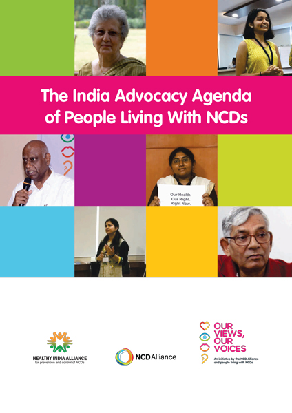 The India Advocacy Agenda of People Living With NCDs