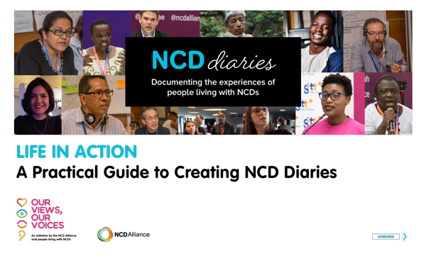 Life in Action: A practical guide to creating NCD Diaries